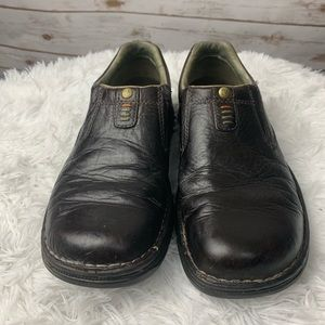 Merrell Shoes - Merrell men's leather shoes brown slip on size 8